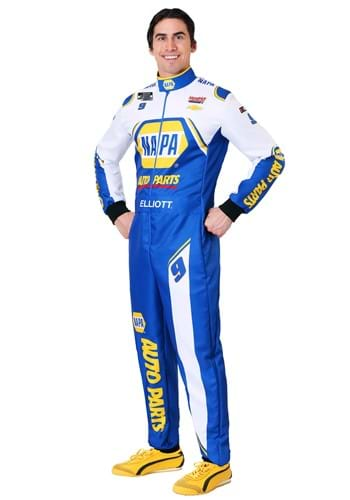 Chase Elliott Mens NASCAR Uniform Costume