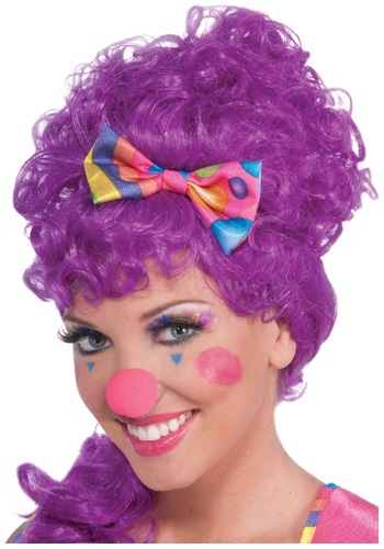 Click Here to buy Hot Pink Clown Nose from HalloweenCostumes, CDN Funds & Shipping