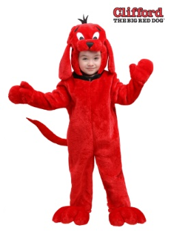 Clifford the Big Red Dog Toddler Costume