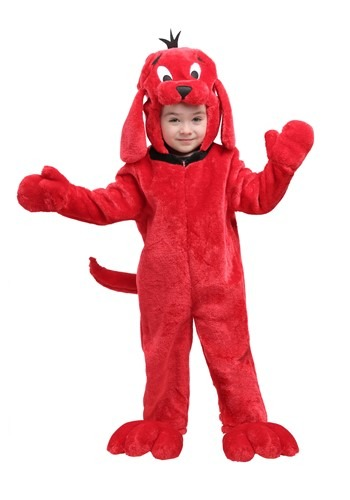 Click Here to buy Clifford the Big Red Dog Costume for Toddlers from HalloweenCostumes, CDN Funds & Shipping