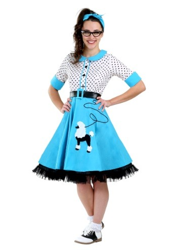 Click Here to buy Sock Hop Cutie Plus Size Womens Costume from HalloweenCostumes, CDN Funds & Shipping