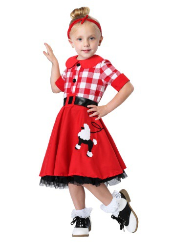 50s Darling Costume for Toddlers