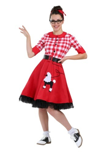 50's Darling Plus Size Womens Costume