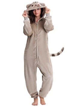 Adult Pusheen Cat Kigurumi Costume