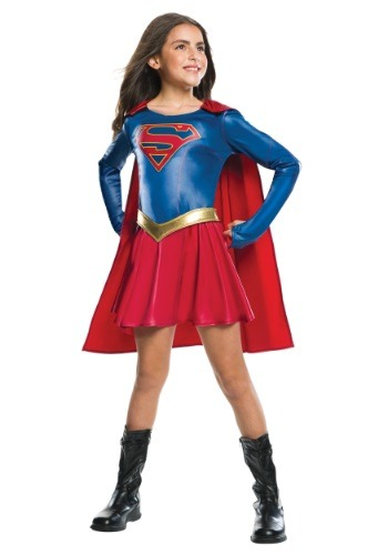 Girls Supergirl TV Costume