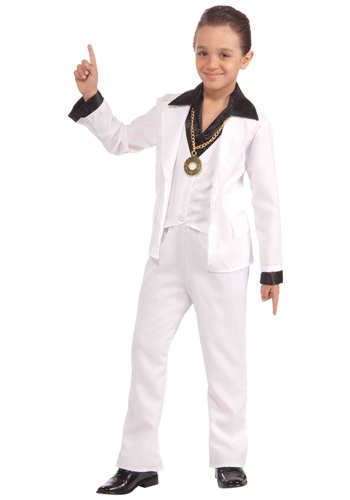 Click Here to buy Kids 70s Disco Fever Costume from HalloweenCostumes, CDN Funds & Shipping