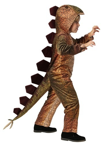 Spiny Stegosaurus Child Size Costume | Kids Dinosaur Costume