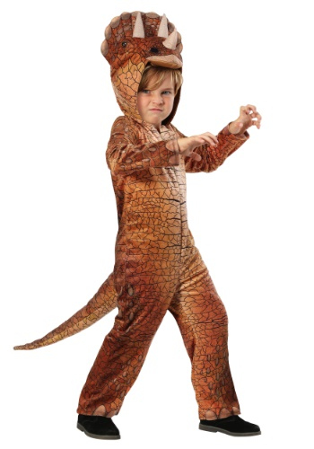 Triceratops Child Dinosaur Costume