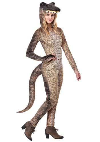 Womens Deadly Dinosaur Costume