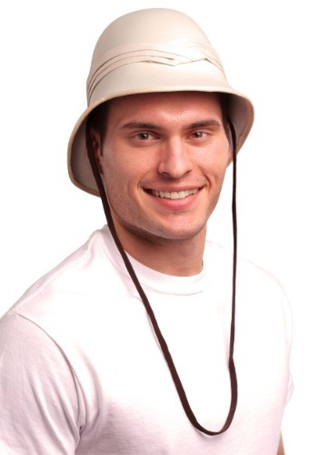 Click Here to buy Safari Pith Hat for Adults from HalloweenCostumes, CDN Funds & Shipping