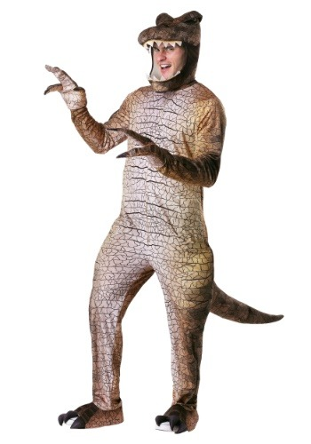 Prehistoric T-Rex Dinosaur Costume for Men