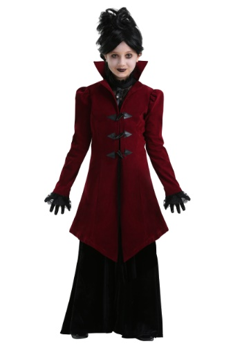 Delightfully Dreadful Vampiress Costume for Girls