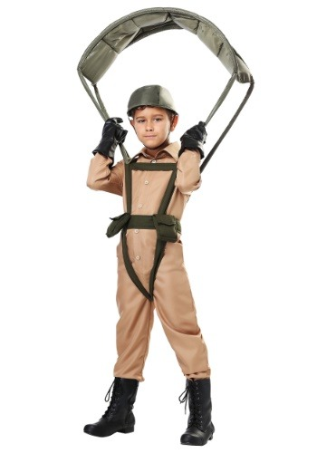 Click Here to buy Paratrooper Kids Costume from HalloweenCostumes, CDN Funds & Shipping