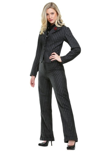 Click Here to buy Female Gangster Costume from HalloweenCostumes, CDN Funds & Shipping