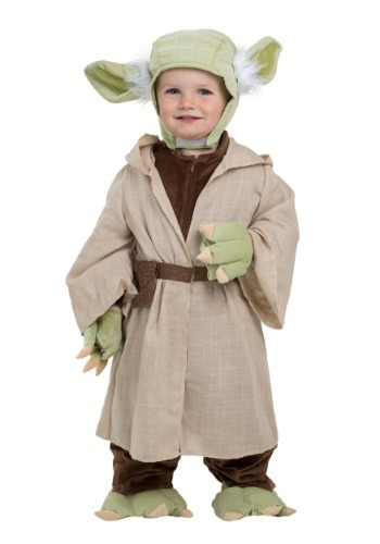 Click Here to buy Star Wars Yoda Costume for Toddlers from HalloweenCostumes, CDN Funds & Shipping