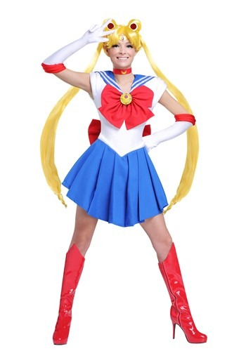 Click Here to buy Sailor Moon Womens Costume from HalloweenCostumes, CDN Funds & Shipping
