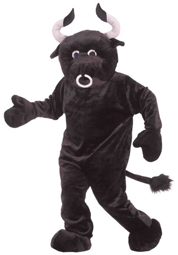 Click Here to buy Mascot Bull Costume from HalloweenCostumes, CDN Funds & Shipping