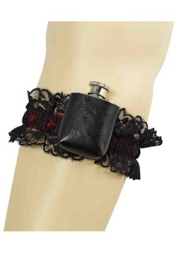 Gangster Garter Flask
