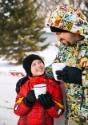 Kids Iron Man Snow Jacket