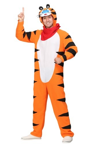 Frosted Flakes Tony the Tiger Plus Size Costume for Men