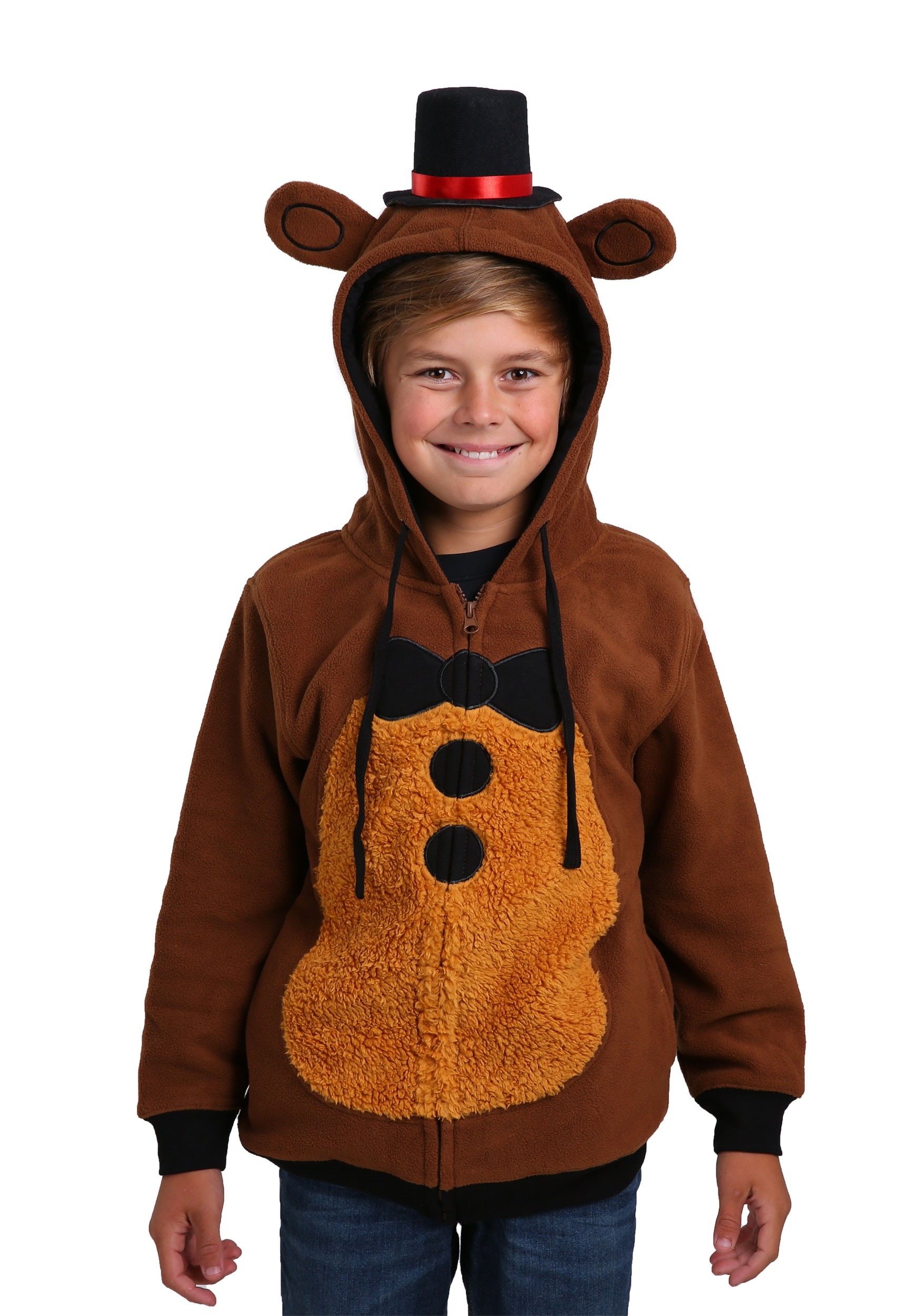 cdb09c06c35 Five Nights at Freddys Kids Costume Hoodie