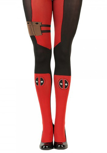 Click Here to buy Marvel Deadpool Womens Tights from HalloweenCostumes, CDN Funds & Shipping