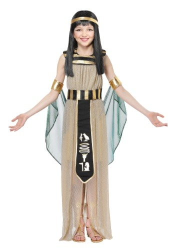 All Powerful Cleopatra Costume for Girls
