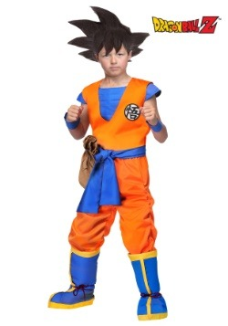 Dragon Ball Z Authentic Goku Kids Costume