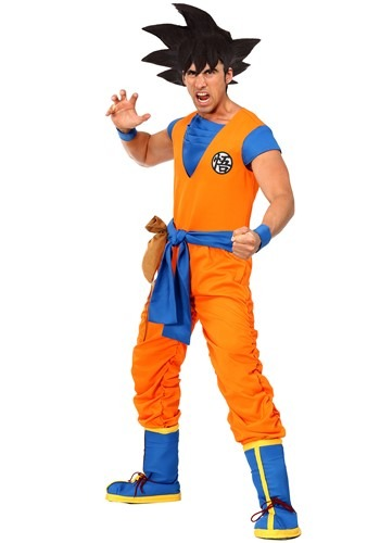 Dragon Ball Z Authentic Goku Costume for Men