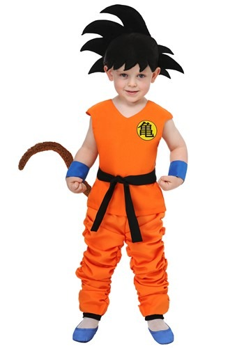 Dragon Ball Kid Toddler Goku Costume