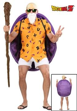 Dragon Ball Z Master Roshi Men's Costume