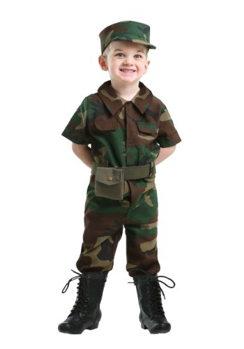 Infantry Soldier Costume for Toddlers