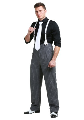 Click Here to buy Mens Mafia Underboss Costume from HalloweenCostumes, CDN Funds & Shipping