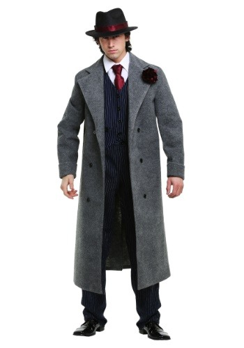 Click Here to buy Cold Blooded Mobster Mens Costume from HalloweenCostumes, CDN Funds & Shipping