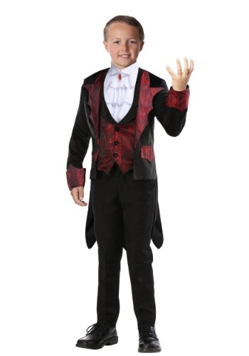 Click Here to buy Dashing Vampire Boys Costume from HalloweenCostumes, CDN Funds & Shipping