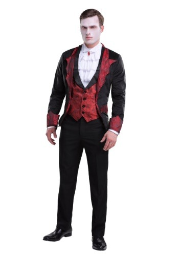 Click Here to buy Dashing Vampire Mens Costume from HalloweenCostumes, CDN Funds & Shipping