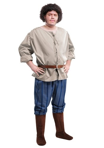 Plus Size Fezzik Costume from The Princess Bride