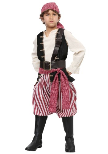 Click Here to buy Battlin Buccaneer Boys Costume from HalloweenCostumes, CDN Funds & Shipping