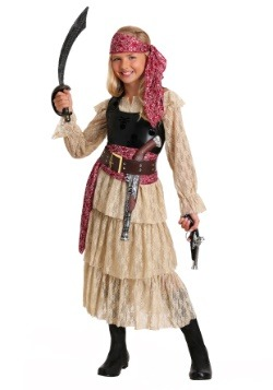 Girls Sweet Swashbuckler Costume