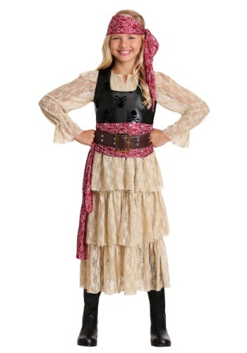 Click Here to buy Sweet Swashbuckler Girls Costume from HalloweenCostumes, CDN Funds & Shipping