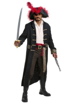 Shipwreck Captain Mens Plus Size Costume