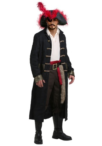 Click Here to buy Shipwreck Captain Plus Size Mens Costume from HalloweenCostumes, CDN Funds & Shipping