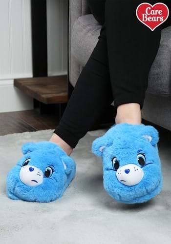 Care Bears Grumpy Bear Adult Slippers