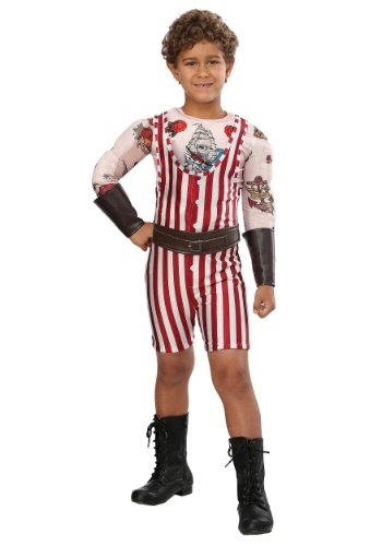 Vintage Strongman Costume for Boys