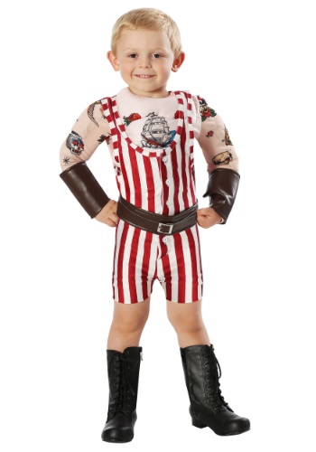 Click Here to buy Vintage Strongman Costume for Toddlers from HalloweenCostumes, CDN Funds & Shipping