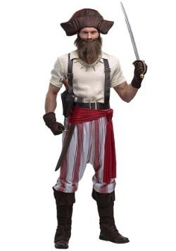 Seven Seas Pirate Plus Size Mens Costume