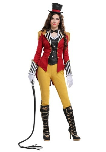 Ravishing Ringmaster Womens Plus Size Costume