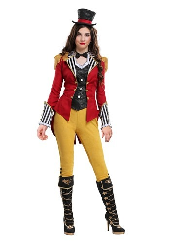 Click Here to buy Ravishing Ringmaster Plus Size Womens Costume from HalloweenCostumes, CDN Funds & Shipping