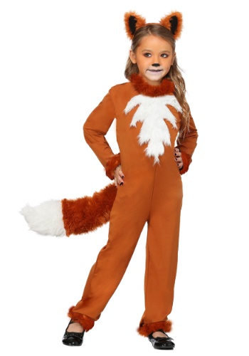 Girls Sly Fox Costume | Animal Costumes for Girls
