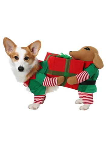 Click Here to buy Santas Little Helper Costume for Dogs from HalloweenCostumes, CDN Funds & Shipping